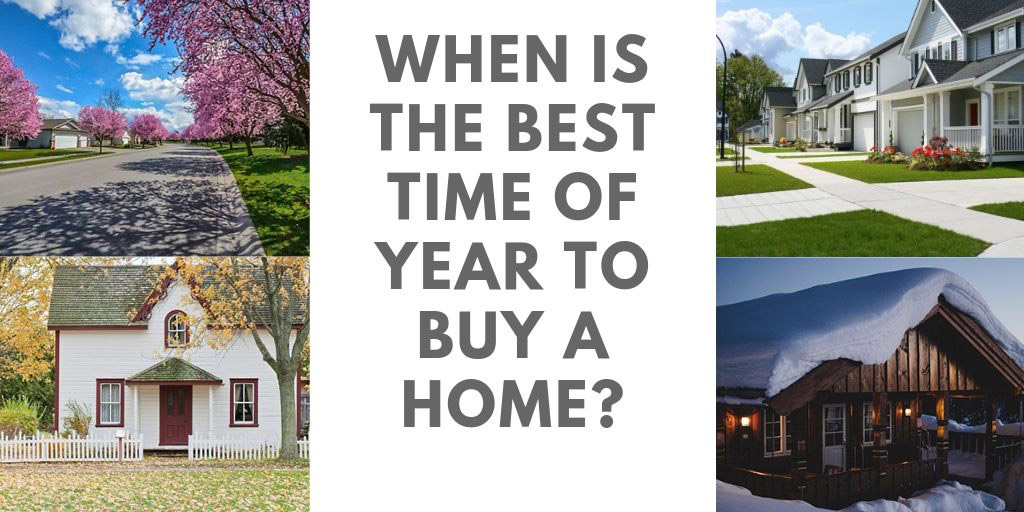 When is the Best Time of Year to Buy a Home in Barrie, ON?